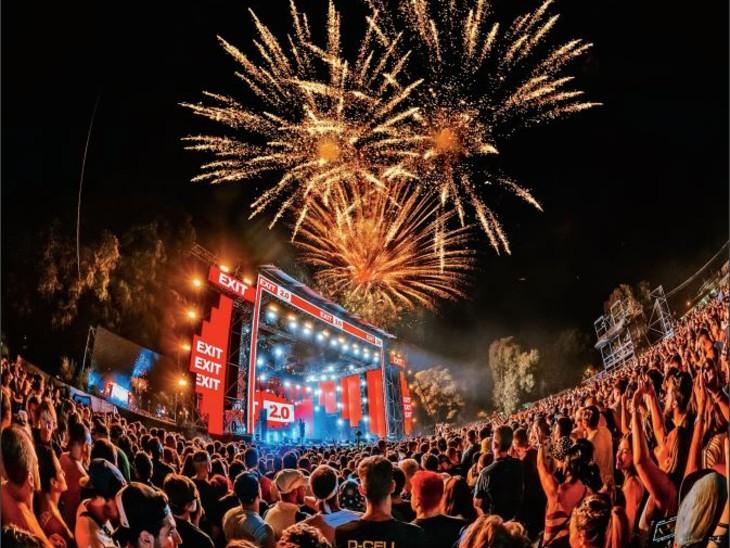 सर्बिया में हुई फेस्टिवल की शुरुआत, पहले दिन 70 देशों के 42 हजार लोग शामिल हुए|विदेश,International - Dainik Bhaskar