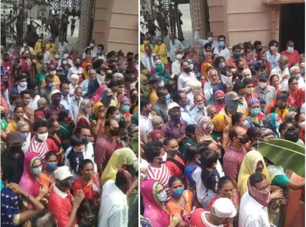 भगवान जगन्नाथ की ऐतिहासिक 144वीं रथयात्रा सोमवार को कर्फ्यू के बीच निकलेगी। - Dainik Bhaskar