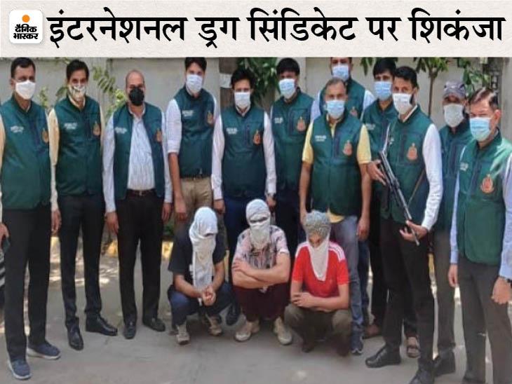दिल्ली में 350 किलो हेरोइन बरामद, इंटरनेशनल मार्केट में कीमत 2500 करोड़; डार्कनेट पर बेचने की तैयारी थी|हरियाणा,Haryana - Dainik Bhaskar