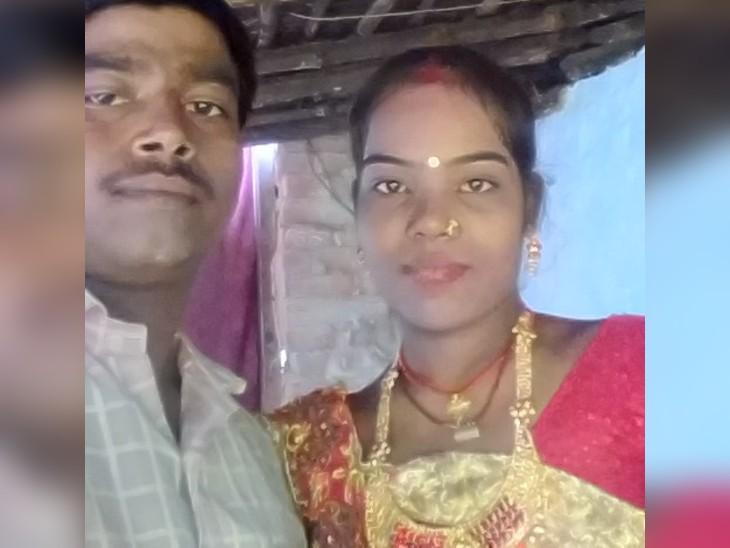 पुलिस भी घटना को देख उलझन में है, शादी के 2 महीने बाद घर में पलंग पर पत्नी की लाश मिली; उसके गले में रस्सी का निशान, फंदे से झूलता मिला पति का शव|समस्तीपुर,Samastipur - Dainik Bhaskar