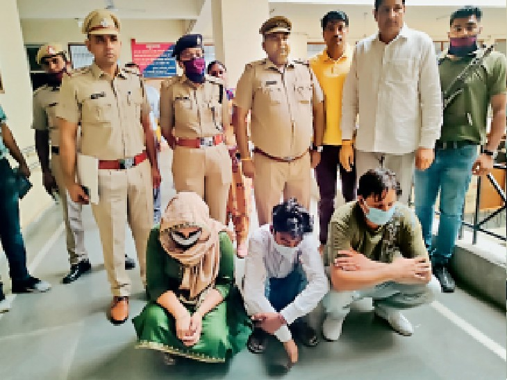 बदमाश या साजिशकर्ता ने नहीं, रविंद्र ने ही अपने सीने और पैर पर चलाई थी गाेेली, समझाैते के लिए मांगे 35 लाख रुपए, पत्नी व दाेस्त के साथ ठेकेदार गिरफ्तार|पानीपत,Panipat - Dainik Bhaskar