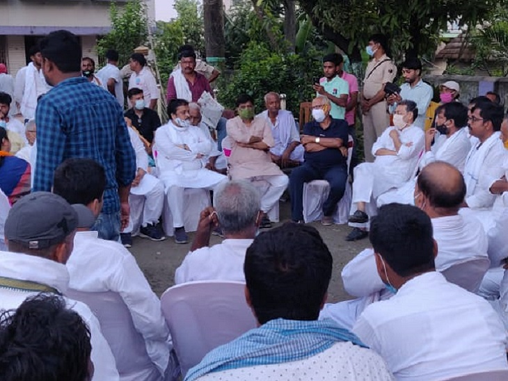 बिहार यात्रा के बहाने संगठन में अपनी जमीन थाहने की कसरत, वाल्मीकि नगर से की शुरुआत; CM नीतीश भी ऐसा ही करते हैं बिहार,Bihar - Dainik Bhaskar