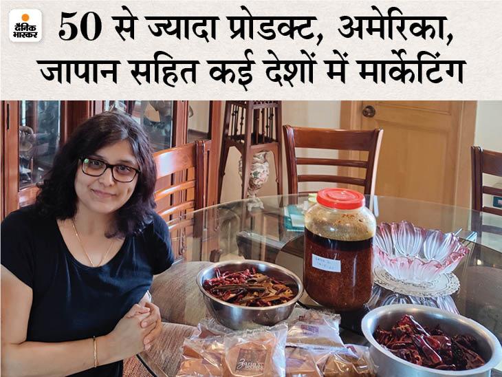 दिल्ली की शैली ने 5 साल पहले 10 हजार रुपए से होममेड मसालों का स्टार्टअप शुरू किया, अब सालाना 13 लाख का बिजनेस|DB ओरिजिनल,DB Original - Dainik Bhaskar