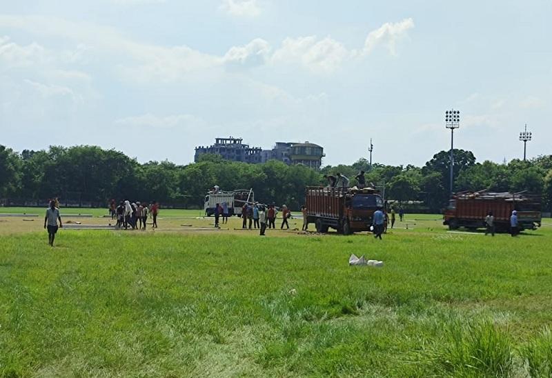 15 जुलाई को प्रधानमंत्री नरेंद्र मोदी आईआईटी के खेल मैदान में वाराणसी के लोगों को करेंगे संबोधित, CM योगी कल तैयारियों का लेंगे जायजा|वाराणसी,Varanasi - Dainik Bhaskar
