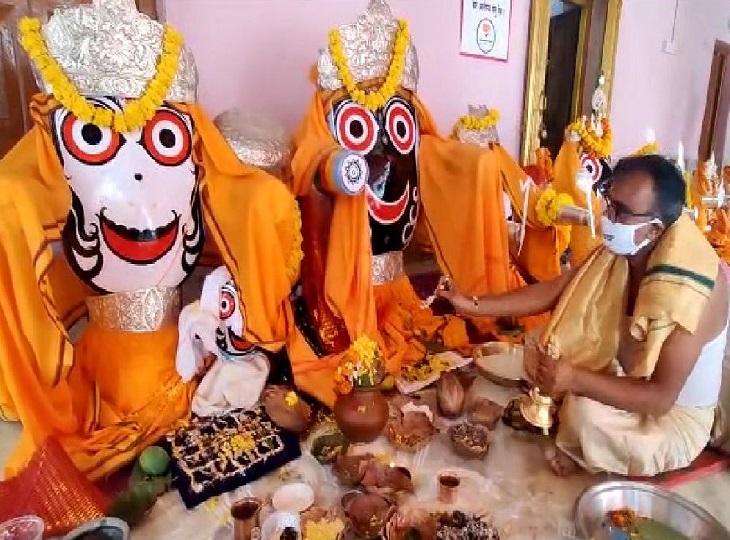 जगदलपुर में इस बार 3 की जगह 1 ही रथ में सवार होंगे भगवान जगन्नाथ, सुभद्रा और बलभद्र; तुपकी से पूरी होगी सलामी की परंपरा जगदलपुर,Jagdalpur - Dainik Bhaskar