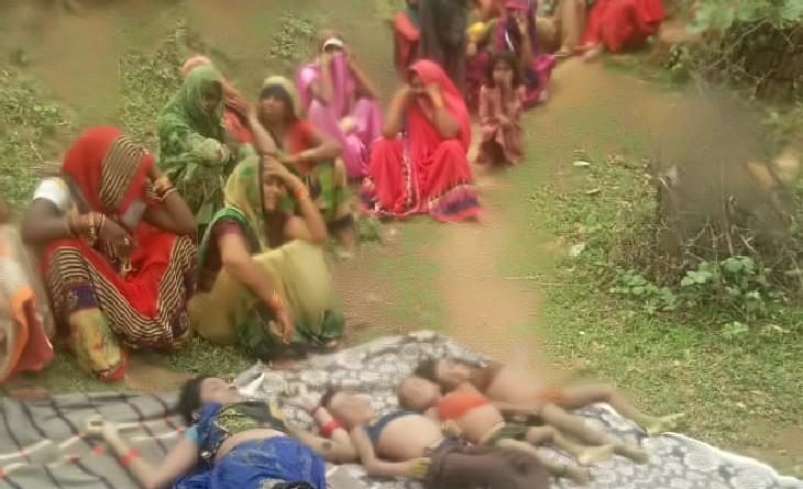 टीकमगढ़ में 1 से 6 साल की उम्र के 3 बेटों को कुएं में फेंका, बाद में खुद कूदकर दी जान; 16 घंटे बाद पति ने कुएं में झांका तो दिखी लाश|सागर,Sagar - Dainik Bhaskar
