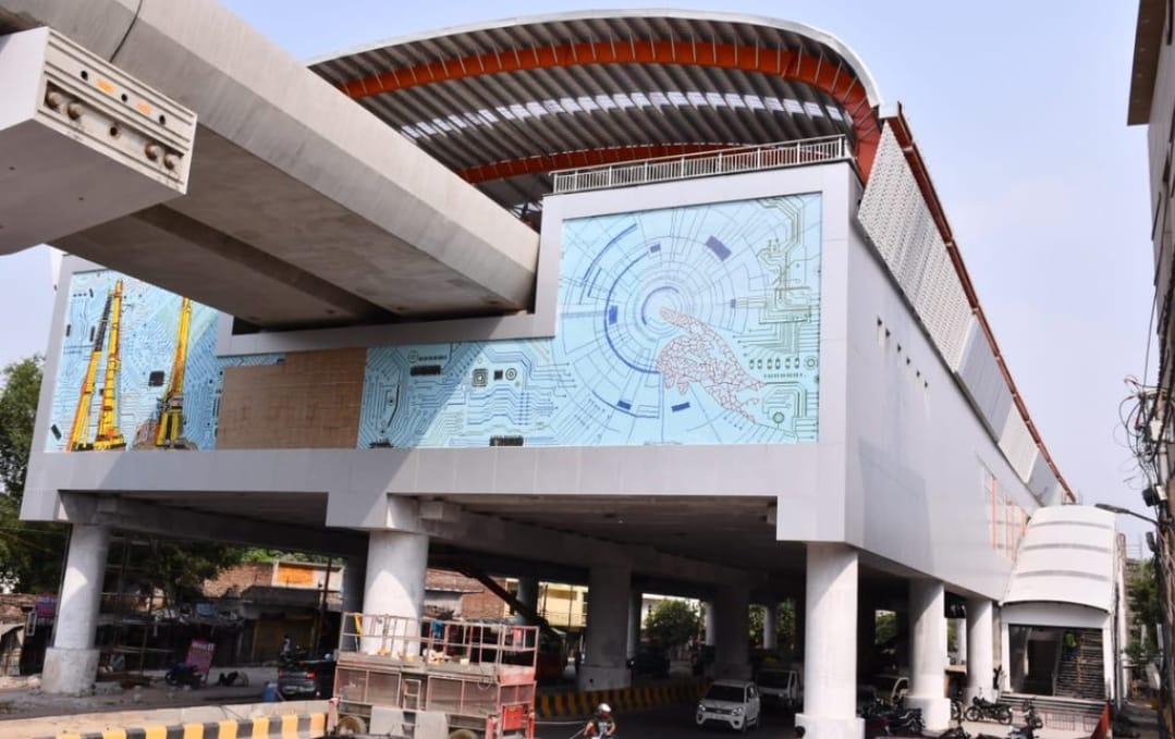 हर मेट्रो स्टेशन दिखाएगा कानपुर के इतिहास की झलक, आईआईटी मेट्रो स्टेशन पर दिखेगा टेक्नोलॉजी का इनोवेशन|कानपुर,Kanpur - Dainik Bhaskar