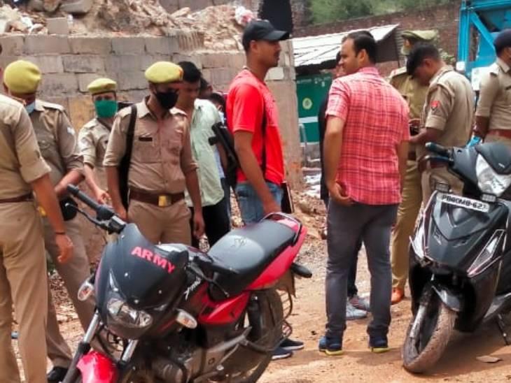 घटना की सूचना मिलने के बाद पुलिस जांच के लिए मौके पर पहुंची थी।