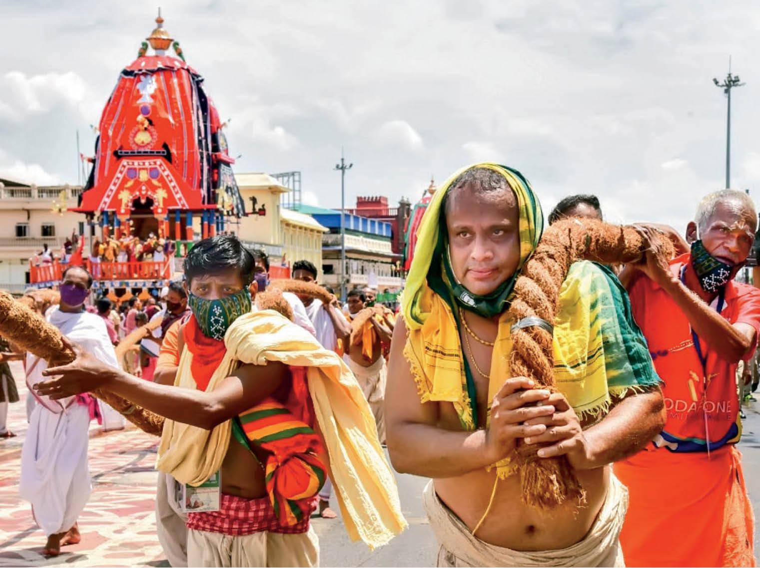 पुरी मंदिर के मुख्य पुजारी जनार्दन पट्टाजोशी महापात्र ने बताया कोराेनाकाल के संदर्भ में रथयात्रा का महत्व - Dainik Bhaskar
