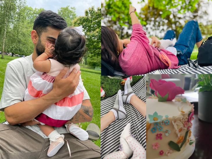 6 महीने की हुई विरुष्का की बेटी वामिका, पार्क में पिकनिक पर जाकर सेलिब्रेट किया स्पेशल-डे; अनुष्का ने शेयर की फोटोज बॉलीवुड,Bollywood - Dainik Bhaskar