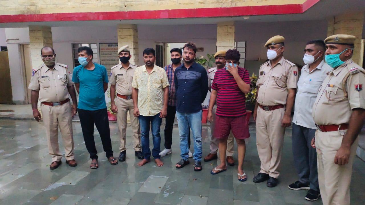कैलाश मांजू के खात्मे के लिए 80 लाख में किया सौदा, 4 गिरफ्तार, 2 सिपाहियों को मार चुका है राजू फौजी|राजस्थान,Rajasthan - Dainik Bhaskar