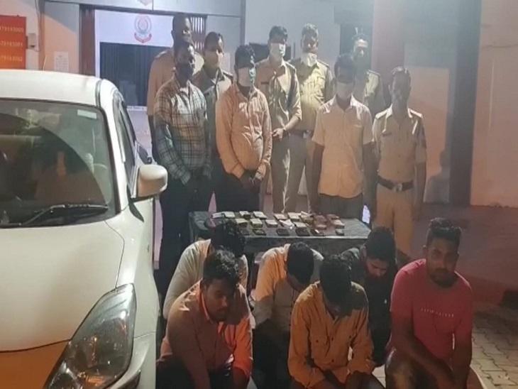महाराष्ट्र से CG आकर दांव लगवा रहे 4 खाईवाल गिरफ्तार; इनके साथ यहां के दो युवक भी धरे गए, मिला 4.5 लाख कैश और लाखों की सट्टापट्टी|बिलासपुर,Bilaspur - Dainik Bhaskar