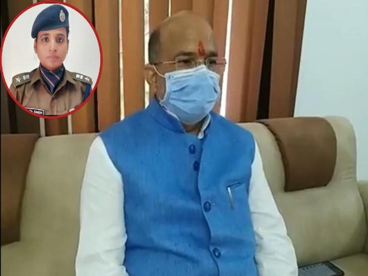 वाट्सएप मैसेज सीन न होने पर बहराइच के विधायक ने एसपी पर लगाए गंभीर आरोप, डीएम को पत्र लिखकर की केस में ढिलाई बरतने की शिकायत|लखनऊ,Lucknow - Dainik Bhaskar