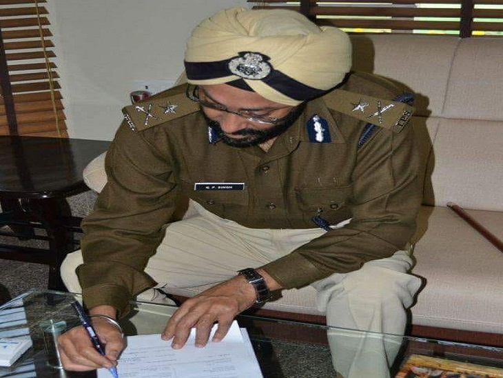 भ्रष्टाचार और राजद्रोह में घिरे IPS जीपी सिंह ने रायपुर की कोर्ट में लगाई थी अर्जी, पुलिस की केस डायरी अधूरी, इसलिए नहीं बनी बात|रायपुर,Raipur - Dainik Bhaskar