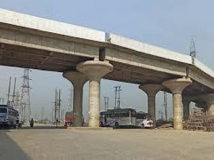 रीवा में चौथे फ्लाईओवर की तैयारी, पहला सिरमौर चौराहा, दूसरा समान और तीसरा रेलवे का ROB ब्रिज निर्माणाधीन, ढेकहा में चौथे का सर्वे शुरू रीवा,Rewa - Dainik Bhaskar