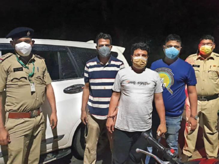 इंदौर से खरीदी 10 लाख की ड्रग्स बेचने गोवा गया था अनवर, गोवा पुलिस ले गई रिमांड पर|इंदौर,Indore - Dainik Bhaskar