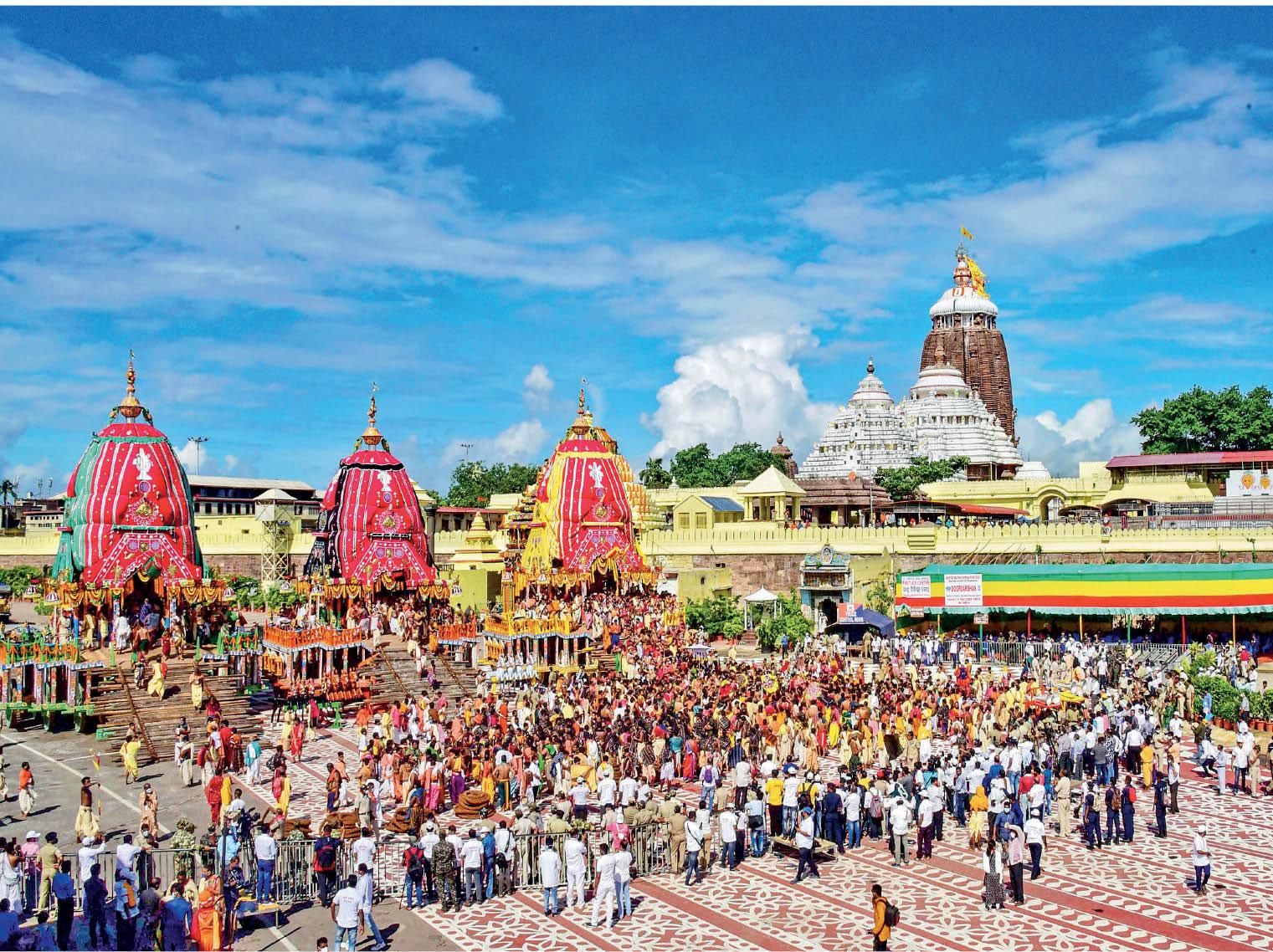 जहां-जहां से गुजरनी थी भगवान जगन्नाथ की रथयात्रा, वहां कर्फ्यू लगाया, ताकि भीड़ न जुटे|देश,National - Dainik Bhaskar