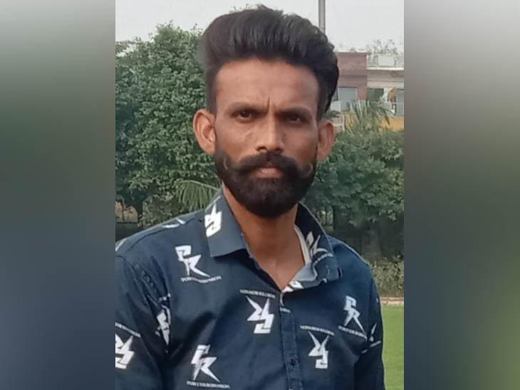 अमृतसर में सड़क हादसे में मारे गए युवक राकेश की फाइल फोटो। - Dainik Bhaskar