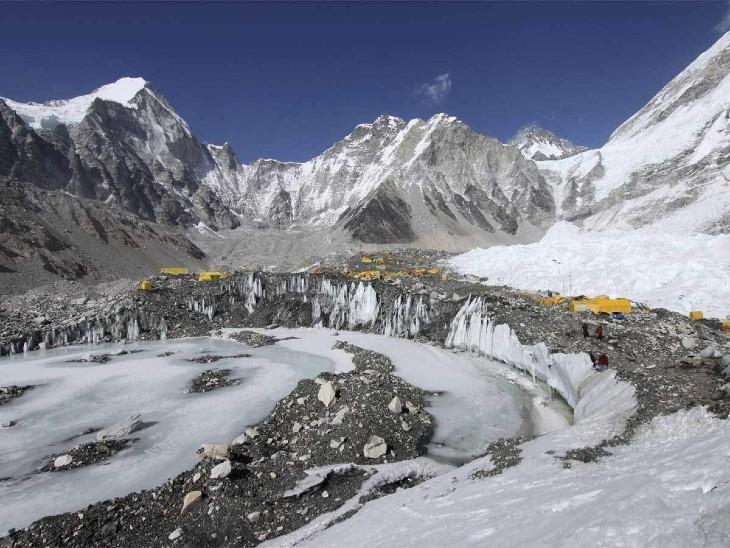 गर्मी से दरक रहे ग्लेशियर, 100 करोड़ लोग खतरे में; वैश्विक तापमान के बढ़ने से सिंधु, गंगा, ब्रह्मपुत्र नदी घाटी क्षेत्र के 20.75 लाख वर्ग किमी पर असर|देश,National - Dainik Bhaskar