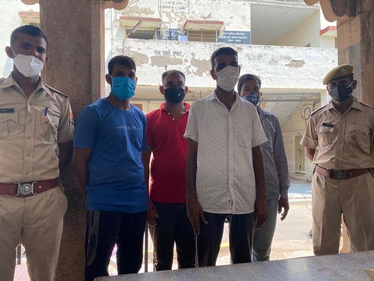 मारपीट कर बाल काटने के 5 आरोपी गिरफ्तार; चाचा ने कराया था मामला दर्ज, वायरल हुआ था वीडियो|अजमेर,Ajmer - Dainik Bhaskar