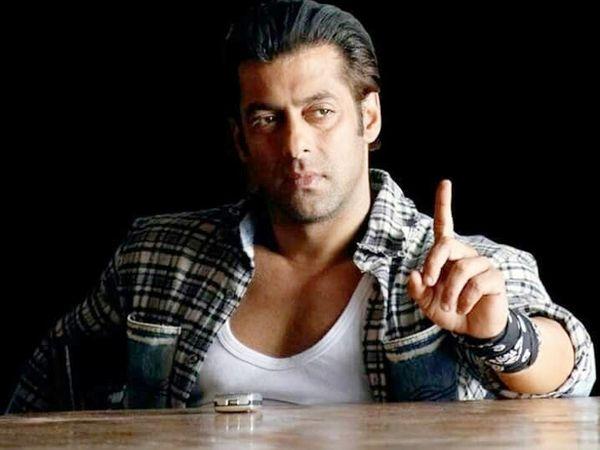 चंडभ्गढ़ के कारोबारी से धोखाधड़ी के आरोप में घिरे  अभिनेता सलमान खान। -फाइल फोटो - Dainik Bhaskar