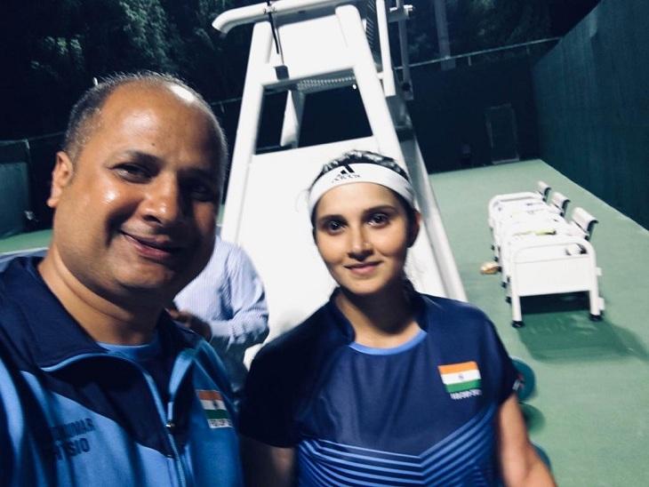 टोक्यो ओलंपिक में भारतीय महिला टेनिस टीम के फिजियो ट्रेनर के तौर पर रहेंगे आनंद कुमार, 19 जुलाई को होंगे रवाना|वाराणसी,Varanasi - Dainik Bhaskar