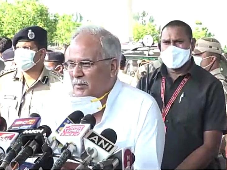 भूपेश बघेल ने कहा- कांग्रेस के दौर में भाजपा नसबंदी कार्यक्रम का विरोध न करती तो जनसंख्या नियंत्रित रहती|रायपुर,Raipur - Dainik Bhaskar