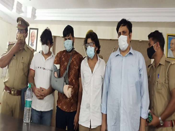 चार सॉफ्टवेयर इंजीनियरों ने मिलकर अमेरिकी पब्लिक के खातों से नौ लाख डॉलर उड़ाए, क्राइमब्रांच ने दबोचा कानपुर,Kanpur - Dainik Bhaskar