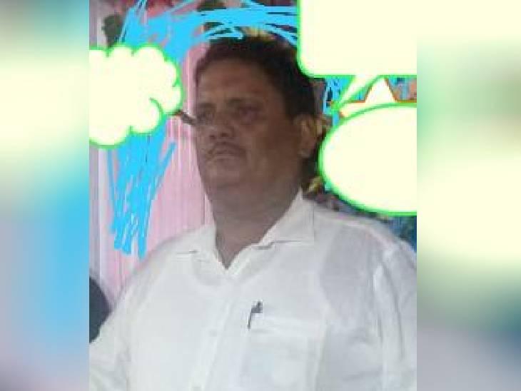 सहायक भू-सर्वेक्षण अधिकारी मुनेन्द्र कुमार दुबे।