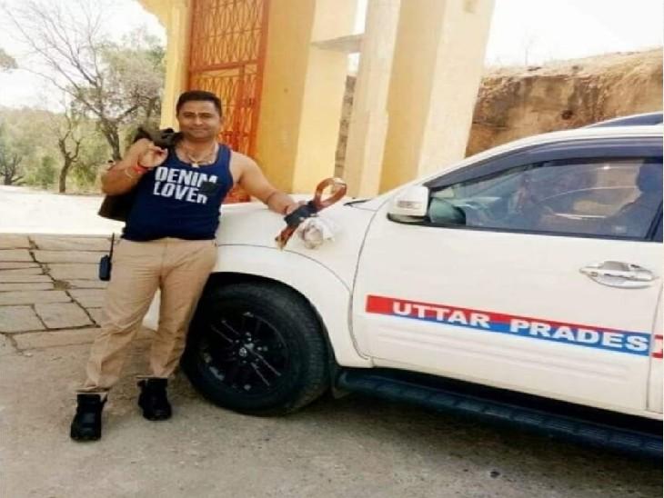 अखाड़ा परिषद अध्यक्ष महंत नरेंद्र गिरि का गनर है आरोपी सिपाही, सोशल एक्टिविस्ट डॉ. नूतन ठाकुर ने आय से अधिक संपत्ति मामले में दिए साक्ष्य प्रयागराज (इलाहाबाद),Prayagraj (Allahabad) - Dainik Bhaskar