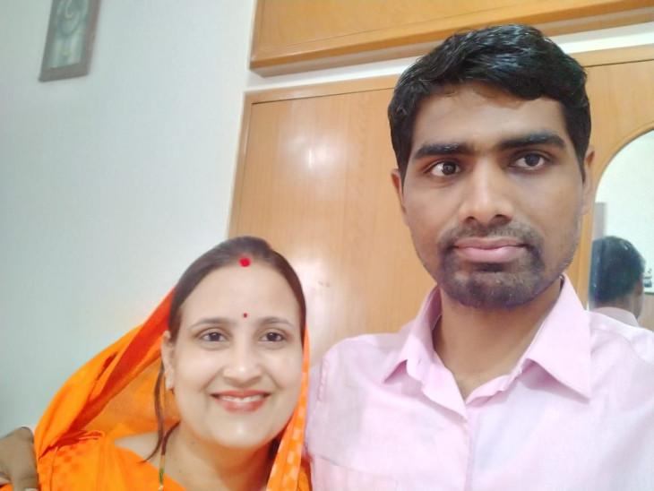 नैवी में रहते प्री-क्लीयर किया, रिटायर होते ही बड़ी बहन ने चार महीने घर में ही करवार्ई तैयारी; एक्स सर्विस मैन कैटेगरी में बनाई 57वीं रैंक|सीकर,Sikar - Dainik Bhaskar