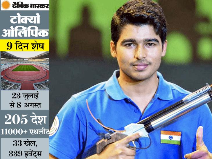 टाइम मैगजीन की लिस्ट में भारत के सौरभ इकलौते एथलीट और दुनिया के एकमात्र शूटर; 6 साल में 22 मेडलजीत चुके|स्पोर्ट्स,Sports - Dainik Bhaskar