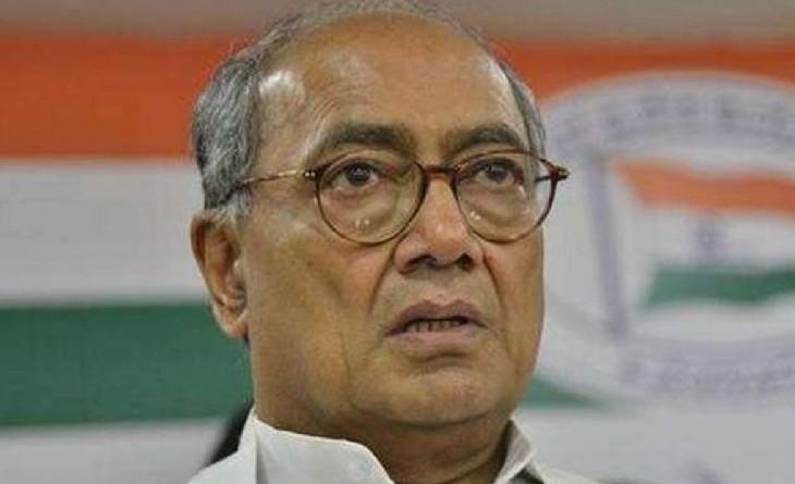 पूर्व मुख्यमंत्री दिग्विजय सिंह - Dainik Bhaskar