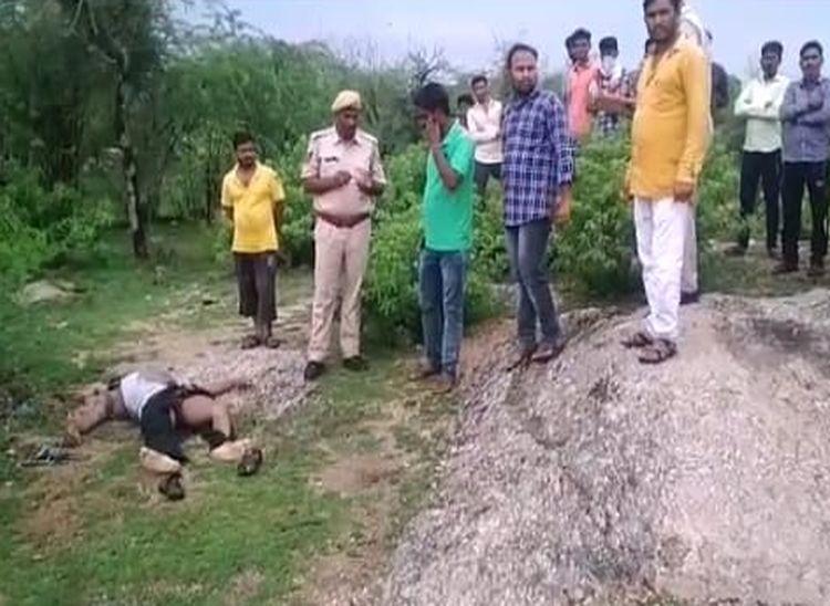 भेड़-बकरियों, भैंसों की मौत के बाद अब आकाशीय बिजली की चपेट में आने से युवक की मौत|राजस्थान,Rajasthan - Dainik Bhaskar