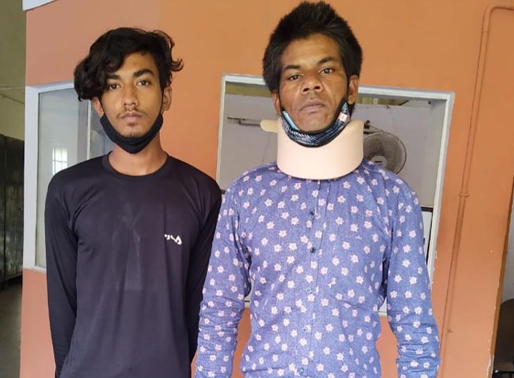 SOG ने मारा छापा, विला में छापे जा रहे थे नकली नोट, 5.80 लाख के नोट बरामद; दो गिरफ्तार आरोपियों में एक ग्वालियर का|जयपुर,Jaipur - Dainik Bhaskar