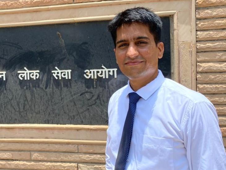 3 बार RAS व 2 बार IAS में असफल रहे, 9 साल संघर्ष किया, इंटरव्यू के 1 माह पहले पिता की मौत हुई, चौथे प्रयास में 176 वीं रैंक हासिल की|कोटा,Kota - Dainik Bhaskar