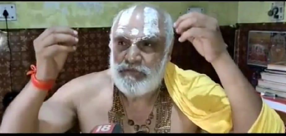 निर्वाणी अनी अखाड़ा के श्रीमहंत धर्मदास। - Dainik Bhaskar
