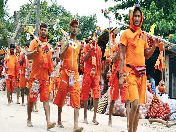 कोरोना महामारी को देखते हुए उत्तराखंड सरकार ने इस बार कांवड़ यात्रा को स्थगित किया है। - Dainik Bhaskar