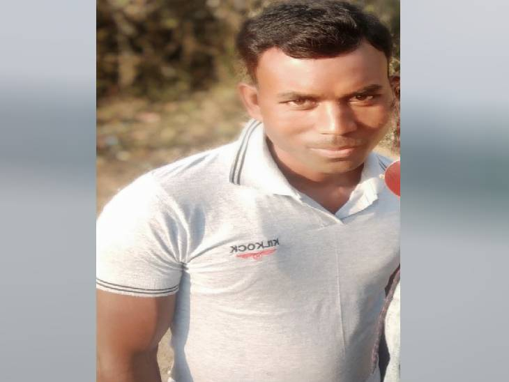 राजू ठाकुर (35) की जीवित अवस्था की फोटो।