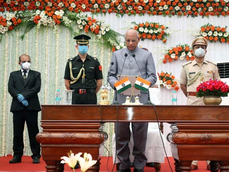 छत्तीसगढ़ के रायपुर से सात बार सांसद रहे रमेश बैस झारखंड के 10वें राज्यपाल बने।