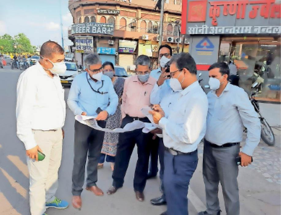 एक्सपर्ट टीम ने नागपुर-चेन्नई जैसी डबल डेकर एलिवेटेड रोड की संभावना तलाशी|जोधपुर,Jodhpur - Dainik Bhaskar