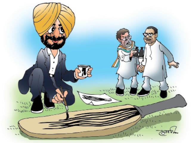 राहुल-प्रशांत की मीटिंग से पहले सिद्धू बोले- आम आदमी पार्टी मेरे काम व विजन को पहचानती है|जालंधर,Jalandhar - Dainik Bhaskar