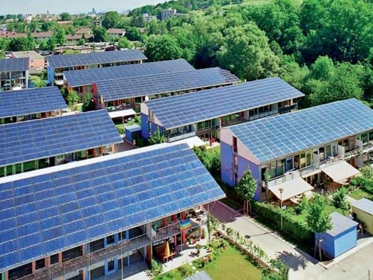 प्रदेश की पहली साेलर सिटी बनेगी सांची घर, दफ्तर, सड़कें साैर ऊर्जा से होंगी रोशन|भोपाल,Bhopal - Dainik Bhaskar