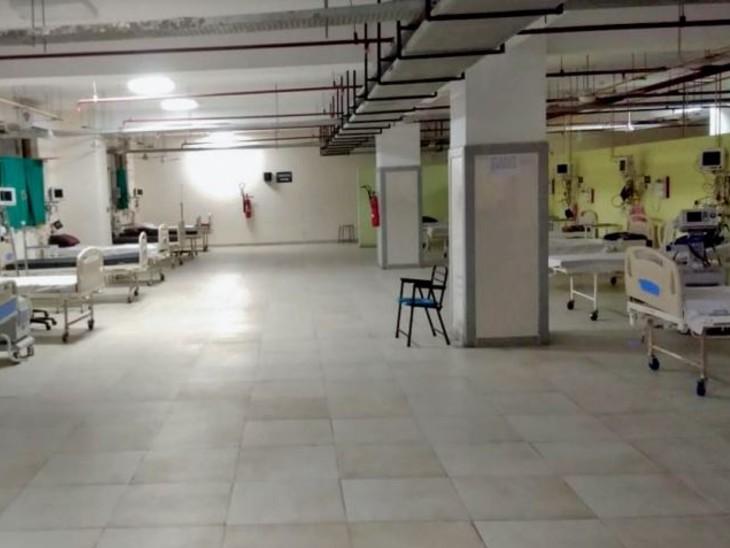 15 महीने बाद अस्पतालों में भर्ती मरीज 10 से कम, हमीदिया में संख्या शून्य पर आई|भोपाल,Bhopal - Dainik Bhaskar