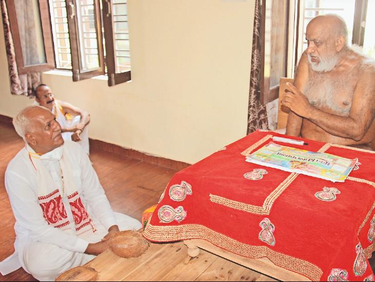 यह पहली बार है जब समाज को संस्कारों और जीवन जीने की सीख देने वाले राष्ट्रसंत का शिक्षा के सर्वोच्च पद पर आसीन कुलपति ने इस तरह से विशेष इंटरव्यू किया हो। - Dainik Bhaskar