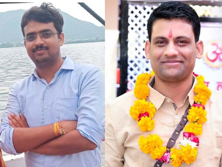2nd Topper मनमोहन ने किया किरावल का नाम, शिक्षकों के परिवार के बेटे विकास को मिली 9वीं रैंक|टोंक,Tonk - Dainik Bhaskar