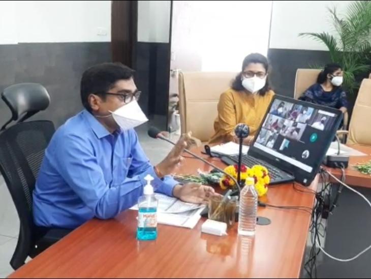कोरोना की तीसरी लहर से निपटने के लिए 15 अगस्त तक बाल चिकित्सालय में तैयार हो जाएगा आधुनिक अस्पताल, जिले में बनेंगे 52 नए उप स्वास्थ्य केंद्र|रतलाम,Ratlam - Dainik Bhaskar