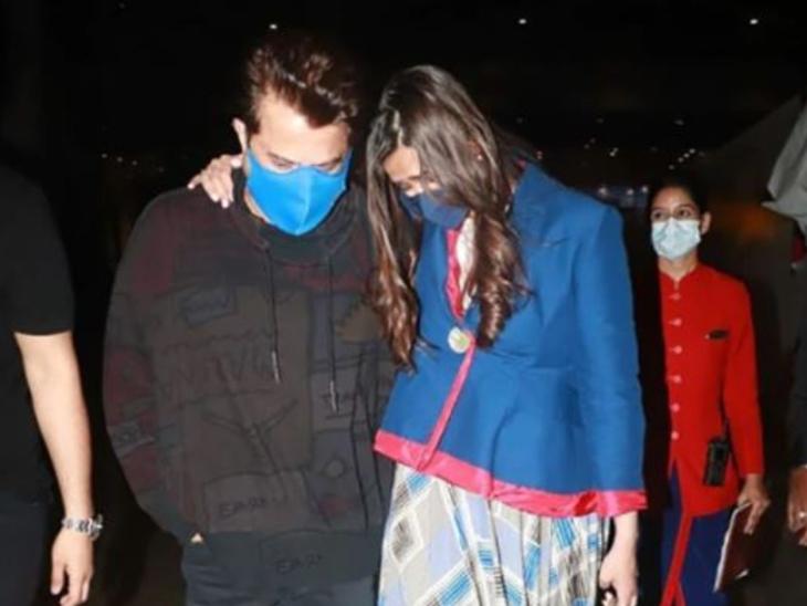 लंदन से कई महीनों बाद इंडिया लौटीं सोनम, एयरपोर्ट पर पापा अनिल कपूर को देख रो पड़ीं एक्ट्रेस; वीडियो वायरल बॉलीवुड,Bollywood - Dainik Bhaskar