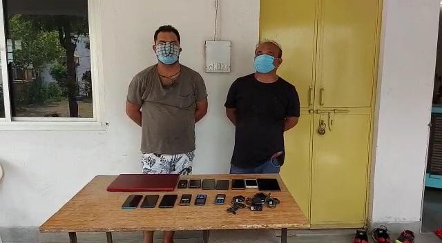 क्रिकेट बुकी के ठिकाने पर दबिश देते हुए वहां से दो लोगों को गिरफ्तार किया, ऑनलाइन लगा रहे थे सट्टा; 9 लाख रुपए जब्त|राजस्थान,Rajasthan - Dainik Bhaskar