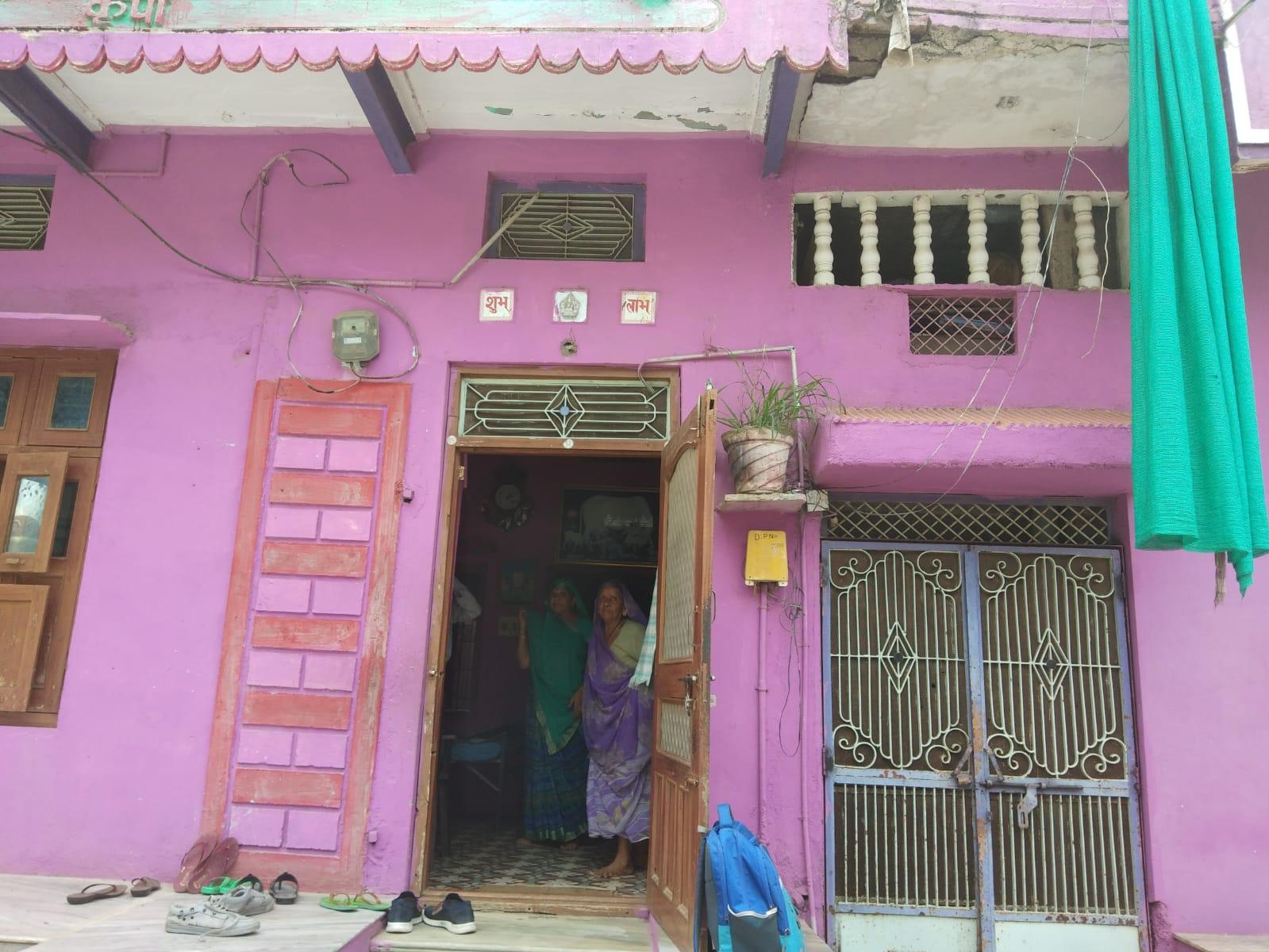 बड़ोदिया स्थित जयनीत का पुश्तैनी मकान।
